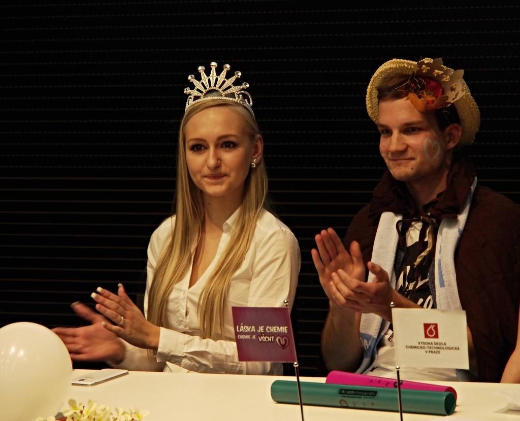Král a Miss VŠE - debata
