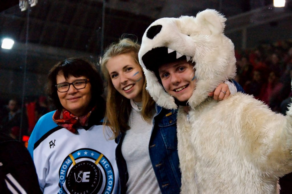 hokejový turnaj pražských univerzít