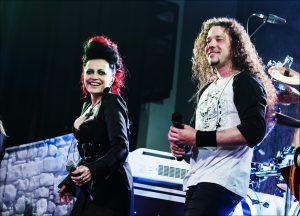 Arakain a Lucie Bila