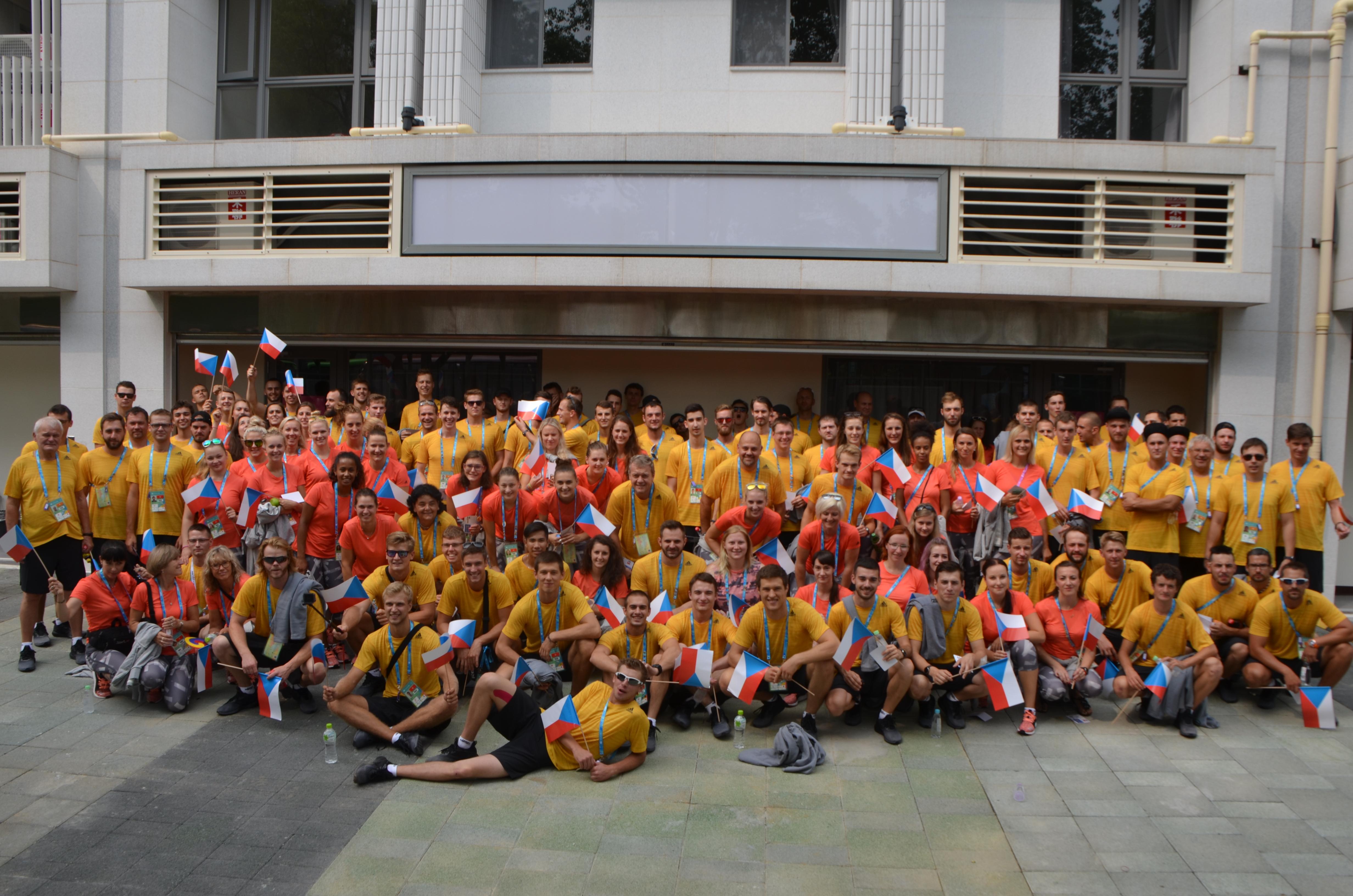 česká reprezentace Taipei