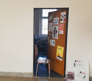 stánek redakce