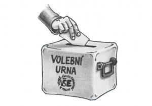 volby, senát, urna