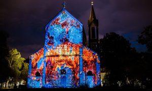 Signal Festival, Praha, videomapping